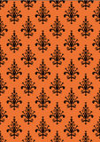 Seamless vegetable pattern Stock Images