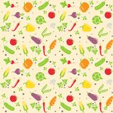 Seamless vegetable texture Royalty Free Stock Photos