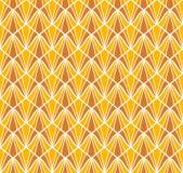 seamless vektor för abstrakt modell Art Deco Style Background geometrisk textur Arkivfoto