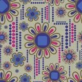 seamless vektor för blom- för blomma modell lilly stock illustrationer