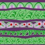 seamless vektor för dekorativ illustrationmodell Arkivbilder