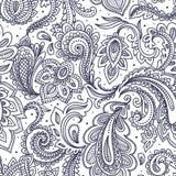 seamless vektor för härlig blom- illustration Arkivfoton