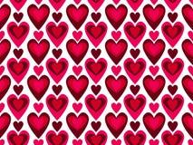 seamless vektor för hjärtamodell Vektor Illustrationer