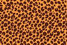 seamless vektor för leopardmodell Royaltyfri Illustrationer