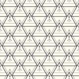 seamless vektor för modell abstrakt bakgrund Upprepa geometrisk bakgrund med linjära trianglar med en person som tillhör en etnis Arkivfoto