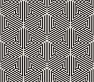 seamless vektor för modell abstrakt bakgrund Upprepa geometriskt belägga med tegel från randig triangelelementsr Royaltyfri Foto