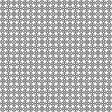 seamless vektor för modell abstrakt geometrisk textur Svartvit bakgrund Monokromma delade cirklar planlägger stock illustrationer