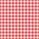 seamless vektor för modell Bur för torkduk för mode för röd färg för cellbakgrund Abstrakt rutig bakgrund på vit royaltyfri illustrationer