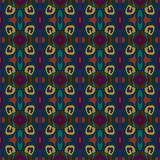 seamless vektor för modell Dekorativt tryck för textiler geometrisk bakgrund Arkivfoto
