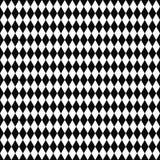 seamless vektor för modell geometrisk textur Svartvit bakgrund Monokrom rombformad design royaltyfri illustrationer