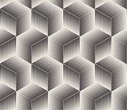 seamless vektor för modell Modern stilfull abstrakt textur Upprepa geometriska tegelplattor fotografering för bildbyråer