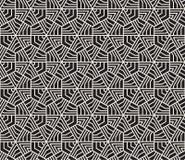 seamless vektor för modell Modern stilfull abstrakt textur Upprepa geometriska tegelplattor royaltyfri bild