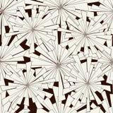 seamless vektor för modell Svartvit abstrakt bakgrund Royaltyfri Foto