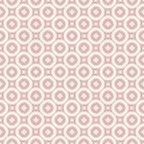seamless vektor f?r blom- modell Tappningprydnad i rosa och beigea färger vektor illustrationer