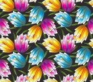 Seamless vektorinfallwallpaper Royaltyfria Bilder