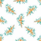 seamless vektorwallpaper för blom- modell Royaltyfri Foto