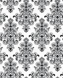 seamless vektorwallpaper för classicism Fotografering för Bildbyråer