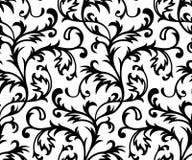 seamless vektorwallpaper för classicism Arkivfoton