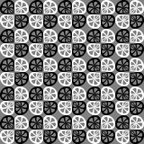 seamless vektorwhite för svart modell Royaltyfri Fotografi