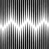 Seamless Vertical Line Pattern. Vector Black and White Stripe Ba Stock Photo