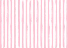 Free Seamless Vertical Pink Watercolor Stripes Pattern In White Background Stock Photography - 163191912