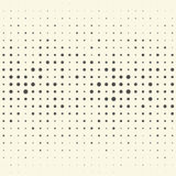 Seamless Vertical Stripe and Dot Pattern. Vector Monochrome Back Royalty Free Stock Photography