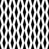 Seamless Vertical Stripe Rhombus Pattern. Minimal Print Graphic Stock Images