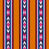 Seamless vertical stripes pattern. Seamless ethnic vertical stripes pattern Royalty Free Stock Images