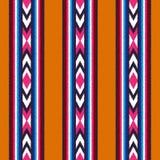 Seamless vertical stripes pattern. Seamless ethnic vertical stripes pattern Stock Illustration
