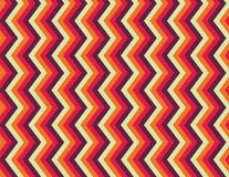 Seamless Vibrations. A seamless zigzag pattern is featured in an abstract background vector illustration Stock Photos