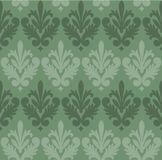 Seamless Victorian Style Wallpaper Background Stock Images