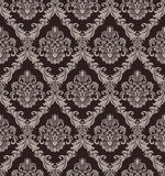 Seamless victorian Wallpaper for design Royalty Free Stock Photography