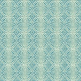 Blue Victorian Wallpaper Pattern Royalty Free Stock Photography