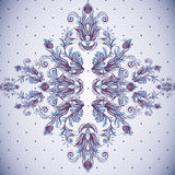 Seamless vintage background, baroque pattern Stock Photography