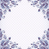 Seamless vintage background, baroque pattern Stock Image