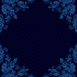 Seamless vintage background, baroque pattern Stock Photo