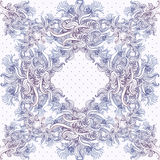 Seamless vintage background, baroque pattern Royalty Free Stock Photography