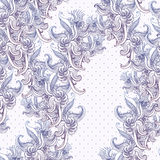 Seamless vintage background, baroque pattern Royalty Free Stock Photo