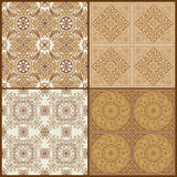Seamless Vintage Background Collection Stock Images