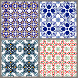 Seamless vintage background collection - victorian ornament tile Stock Image