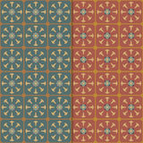 Seamless vintage background. Retro color style patterns. Stock Photo