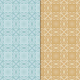 Seamless vintage background. Retro color style patterns. Stock Photos