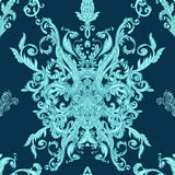 Seamless vintage baroque pattern Stock Photo