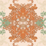 Seamless vintage baroque pattern Stock Images