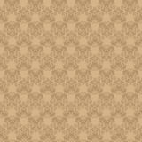 Seamless vintage beige background Stock Photography