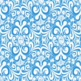 Seamless vintage blue background Stock Images