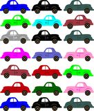 Seamless Vintage Car Pattern Royalty Free Stock Images