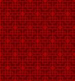 Seamless Vintage Chinese style window tracery diamond geometry pattern background. Seamless Background image of vintage Chinese window tracery diamond geometry Royalty Free Stock Photography