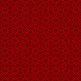 Seamless vintage Chinese window tracery diamond check pattern background. Royalty Free Stock Photos