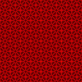 Seamless vintage Chinese window tracery diamond crossed check circle pattern background. Royalty Free Stock Photo